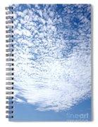 Altocumulus Stratiformis Perlucidus Cloud Spiral Notebook