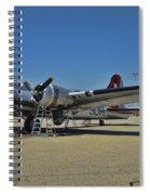 Aluminum Overcast 5 Spiral Notebook