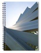 Aluminum Sculpture Detail Spiral Notebook