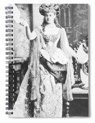Alva Vanderbilt (1853-1933) Spiral Notebook