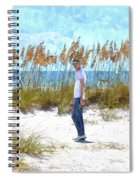 Cool On Anna Maria Island Spiral Notebook