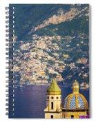 Amalfi Coast Spiral Notebook