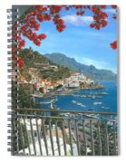 Amalfi Vista Spiral Notebook