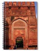 Amar Singh Gate Red Fort Agra  Spiral Notebook