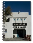 Amargosa Opera House Death Valley Img 0021 Spiral Notebook
