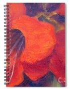 Amaryllis Flower Spiral Notebook