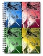 Amaryllis Pop Art Spiral Notebook