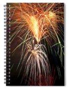 Amazing Fireworks Spiral Notebook