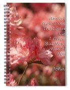 Amazing Grace Azaleas  Spiral Notebook