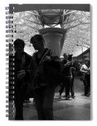 Amazing Penn Station - Otherworldly View Spiral Notebook