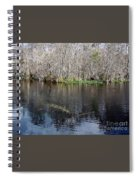Reflections - On The - Silver River Spiral Notebook