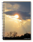 Amazing Sunset Spiral Notebook