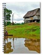 Amazon River Reflections-peru  Spiral Notebook
