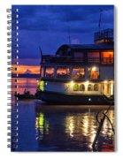 Amazon Sunset Spiral Notebook