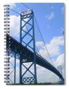 Ambassador Bridge Spiral Notebook