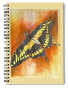Amber Spiral Notebook