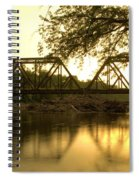 Amber Trestle Spiral Notebook