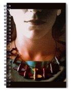Amelia Portrait Spiral Notebook