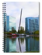 America Cup Winner Oracle Team Usa In Redwood City Ca Spiral Notebook