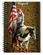 America -- Rodeo-style Spiral Notebook