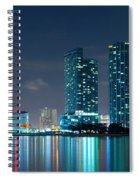 American Airlines Arena And Condominiums Spiral Notebook