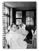 American Barbershop, C1900 Spiral Notebook