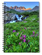 American  Basin Waterfall Spiral Notebook