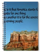 American Belief Spiral Notebook