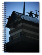 American Bird House Spiral Notebook