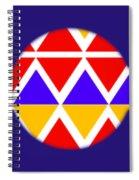 American Black Spiral Notebook