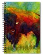 American Buffalo Spiral Notebook
