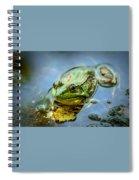 American Bull Frog Spiral Notebook