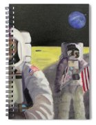 American Cat Astronauts Spiral Notebook