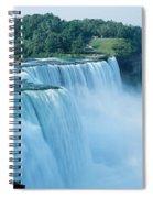 American Falls Niagara Falls Ny Usa Spiral Notebook