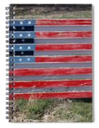 American Flag Country Style Spiral Notebook