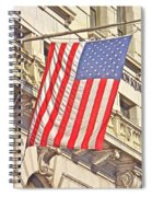 American Flag N.y.c 1 Spiral Notebook