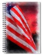American Flag Photo Art 07 Spiral Notebook