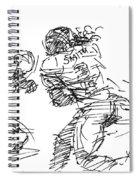 American Football 1 Spiral Notebook
