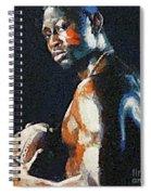 American Football Player Spiral Notebook