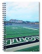American Football Stadium Spiral Notebook