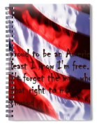 American Freedom Spiral Notebook