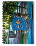 American Gothic Coffee Spiral Notebook