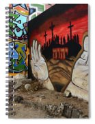American Graffiti New Mexico 2 Spiral Notebook