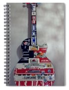 American Guitar Spiral Notebook