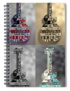 American Guitars  Spiral Notebook