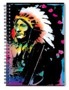 American Indian Silo Spiral Notebook