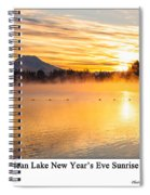 American Lake 2010 Spiral Notebook