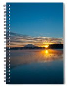 American Lake Sunrise Spiral Notebook