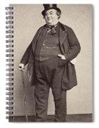 American Man, 1860s Spiral Notebook