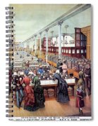 American Millinery, C1885 Spiral Notebook